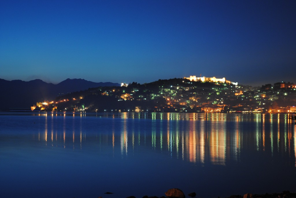 Ohrid lake and town